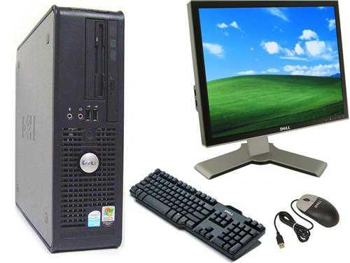 "Dell Optiplex 760, 17"" TFT, Keyboard and Mouse"