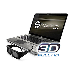 Hp Envy 17-1195ea 3d Laptop W/ 3d Glasses