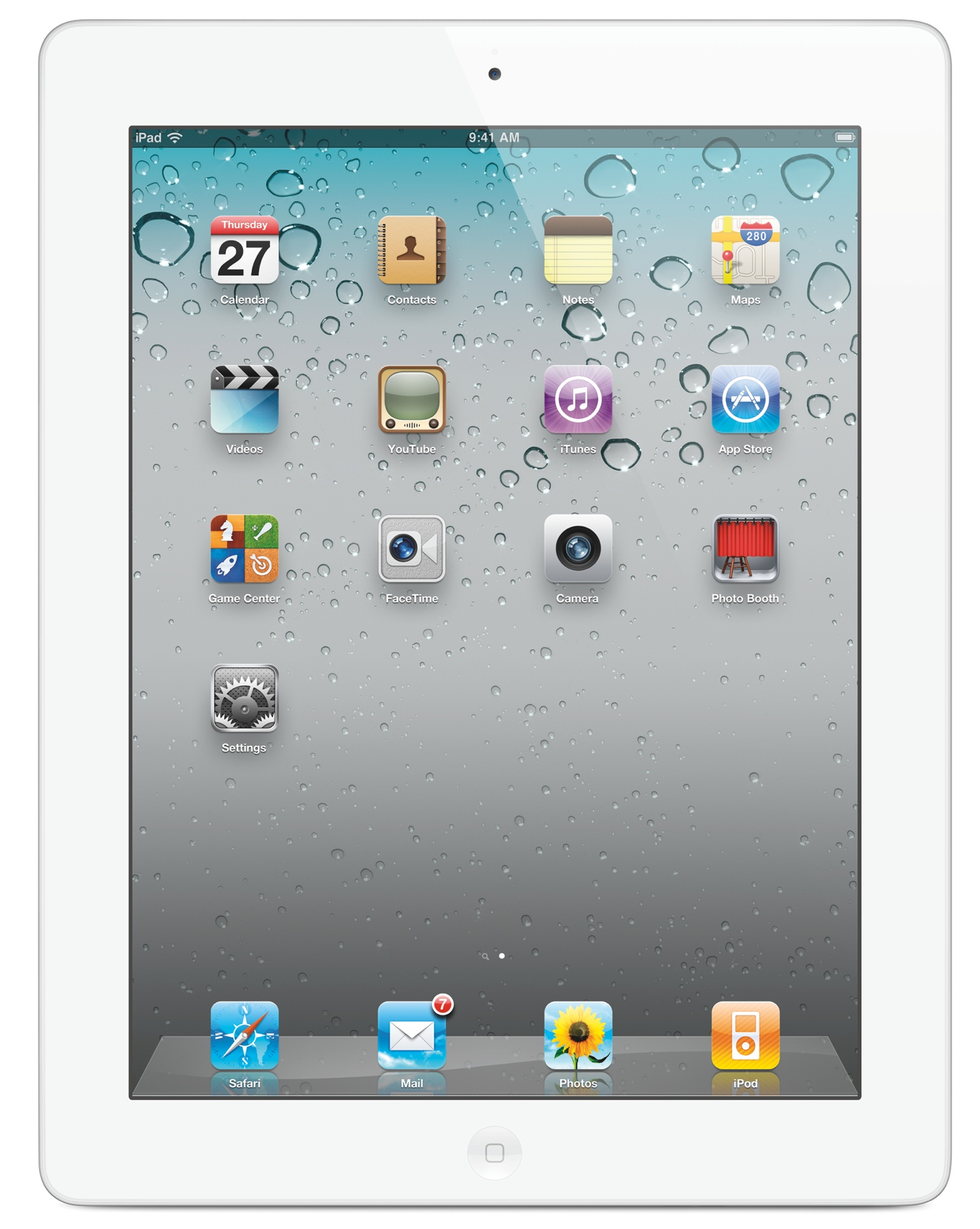 Apple iPad 4th Gen 16GB WIFI Only MD510BA A1458