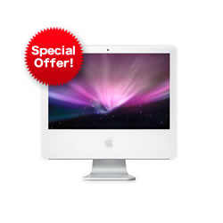 Apple iMac White Core 2 2GHz 2.5GB RAM 160GB HDD 17inch MA590B