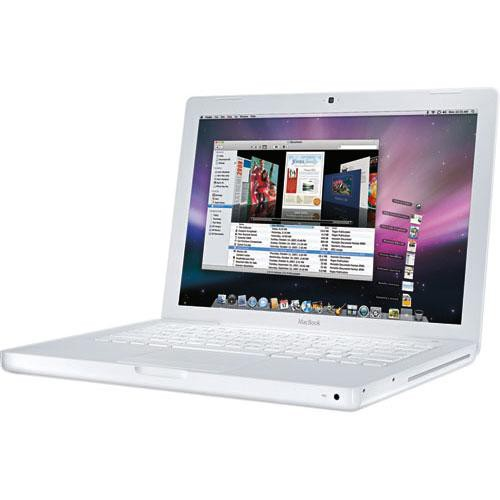 Apple Macbook 13 inch White, 2GB, 80GB HDD A1181