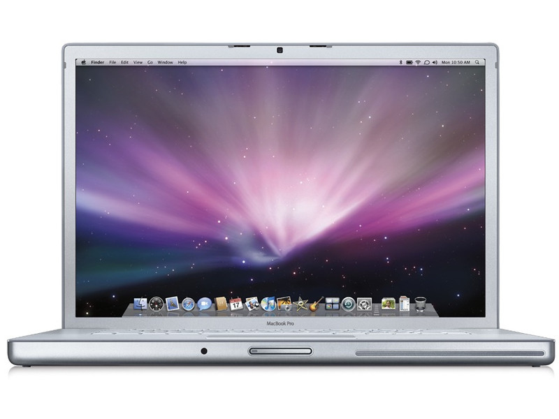 Apple MacBook Pro 15.4in Core 2 Duo 2.4GHz 2GB RAM 250GB HDD MB133BA A1260 2008