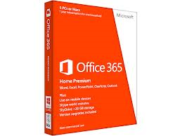 Microsoft Office 365 Home Premium - Any Windows or Mac PC - Up to 5 Devices