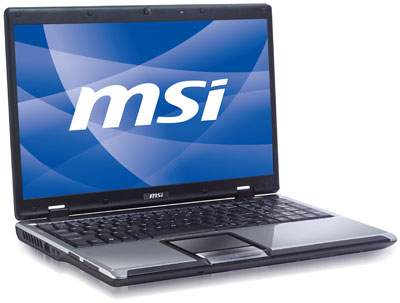 MSI CR610 AMD Sempron Notebook