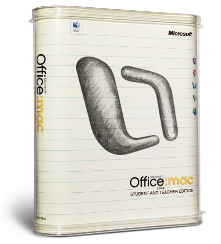 Microsoft Office Mac 2004 - Student and Teacher Edition