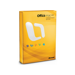 Microsoft Office 2008 Home and Student Edition (MAC)