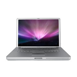 "PowerBook M9462LL/A G4 1.5 17"" Al, Faulty"